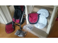 Graco logico s hp delux travel system buggy pram