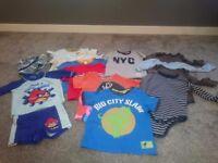Bundle of boys clothes size 1.5-3yrs