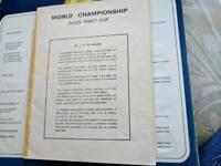 1966 world cup souvenir booklet