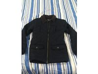 Boys quilted coat age 11 from John Lewis