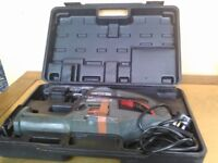 Reciprocating Saw Power Tool with two blades and strong durable carry case