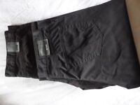 2 Pairs of mens Hugo Boss Arkansas 1 cotton trousers