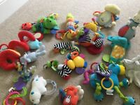 Assorted baby toys some hamleys