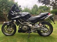 Low Mileage Lady Owned Aprilia Shiver 750GT ABS model 2009 with extras and MOT May 2018