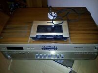 Sanyo betamax video player in working order with tapes