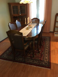 Dining Table set and China Cabinet