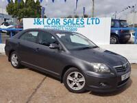 TOYOTA AVENSIS 2.0 T3-X D-4D 5d 125 BHP A GREAT EXAMPLE INSIDE AN (grey) 2007