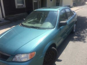 2002 Mazda Protege Sedan - For parts or repair