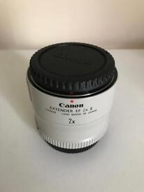 Canon 2x Extender II EF Teleconverter - Excellent Condition - £180 ONO