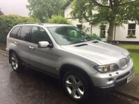 2004 BMW X5 3.0d Sport Auto High Spec Xenons Black Leather