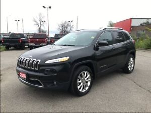 2016 Jeep Cherokee LIMITED**4X4**LEATHER**SUNROOF**NAV**BLUEOOTH