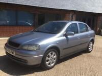 "Vauxhall Astra 2005"" 1.4 petrol long mot ideal first car"