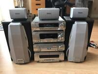 Technics 4 stack HiFi 5CD/DVD