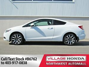 2013 Honda Civic EX-L | Leather | Bluetooth | B/U Camera |