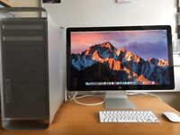 "Apple Mac Pro 2.8GHz Quad Core, 2TB HDD, 8GB RAM, & 27"" Apple LED Cinema Display"
