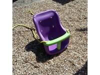 Child toddler garden swing seat