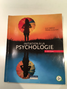 Initiation à la psychologie 2e édition