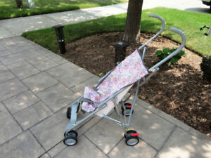Compact Easy Child's Folding Stroller -For quick easy travel use