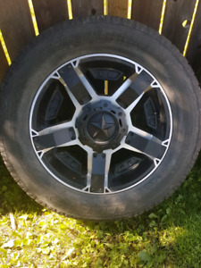20inch Rockstar 2 rims and tires