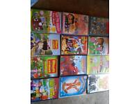 Children dvds hello kitty Peppa pig