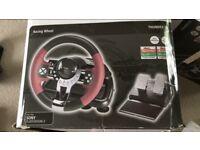 Hama racing wheel thunder v5 and pedals