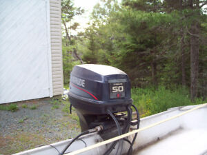 15' Nordic boat motor and trailer