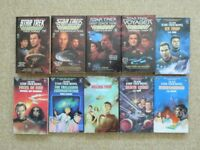 10 STAR TREK BOOKS, including the 4 Furies series