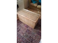 IKEA Oak Lattice Box