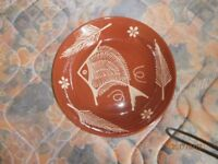 "Terracotta Bowl 14"" - unwanted gift"