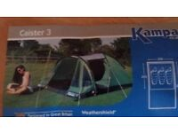 Kampa Caster 3 tent (3 person)