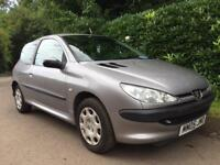 PEUGEOT 206 1.1 **2005 12 MONTHS MOT** LOW INSURANCE GROUP**