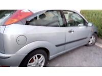 Ford Focus 1.6 coupe for sale / spare or repairs