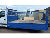 VAUXHALL MOVANO FLATBED 350 3.5T LWB EF TRANSIT DROPSIDE + TAIL LIFT NO VAT