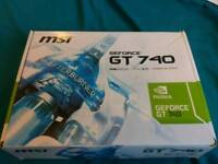 Nvidia gt 740 2gb graphics card