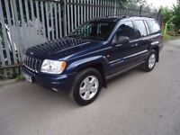 2001 Y REG JEEP GRAND CHEROKEE 4.0 LTD ,LOW MILES
