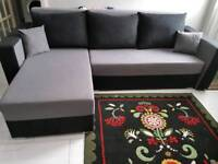 Stunning Corner Sofa bed. Like Brand New. Was £750 now only £300. *Free Delivery*