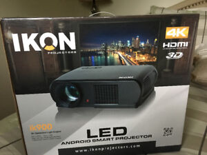 LED Android Smart Projector ( brand new)