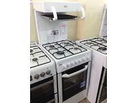 Beko eye level grill gas cooker. 12 month gtee
