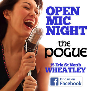 OPEN MIC NIGHT - at The Pogue