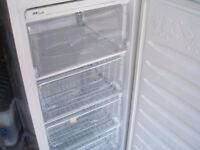 BEKO Upright Freezer TZS 490. 7.8 cu ft. H 144cm x W 44 x D 57