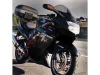 Honda CBR 1100 xx Super Blackbird + extras in black, new tyres, new header pipes, fi loom fix