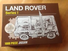 Land Rover series 1 1000 piece puzzle