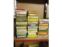 Vintage 8 track tapes, stored since the 80's