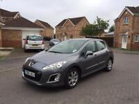 2012 PEUGEOT 308 1.6 HDI 12 MONTH MOT FULL SERVICE HISTORY LOW MILEAGE FULL HPI CLEAR CROUIS