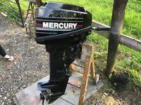 Mercury 15hp 2 stroke outboard