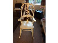 Rocking chair £155 ono