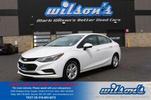 2017 Chevrolet Cruze LT! REAR CAMERA! HEATED SEATS! POWER PACKAG
