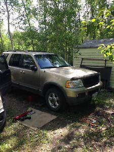 2002 ford explorer need gone today