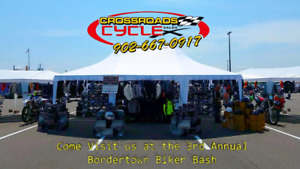 Crossroads Cycle Sales at the 3rd Annual Bordertown Biker Bash