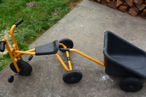 Rabo Tricycle With Trailer in Good Condition.